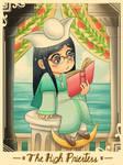 Tarot loli cards - The High Priestess