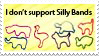 Anti Silly Bands Stamp