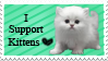 I Support Kittens by Toledoll