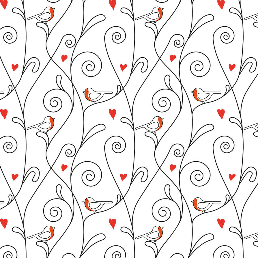 seamless pattern by angychan