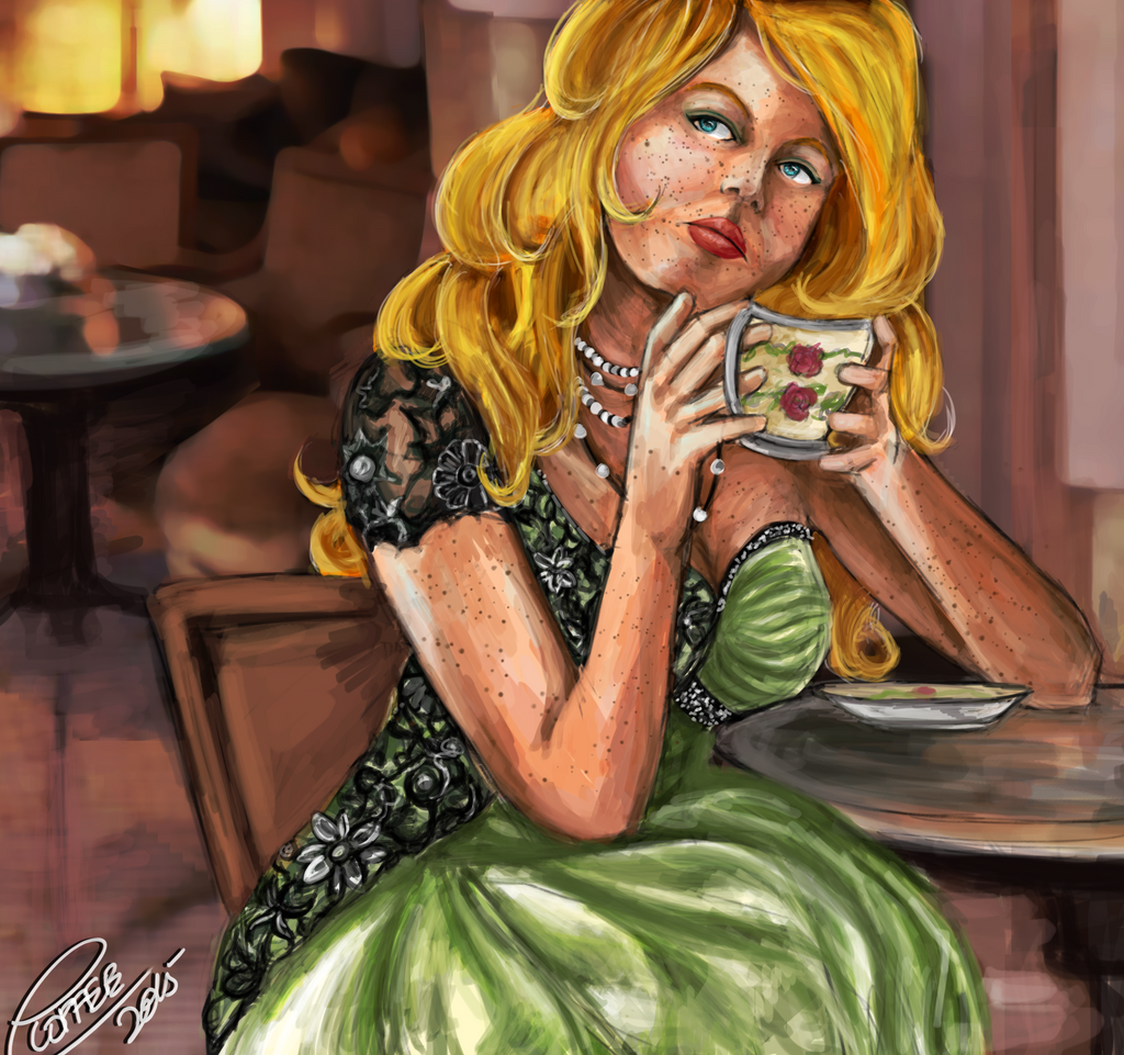 Prize: Tea Time by ExplosiveCoffee