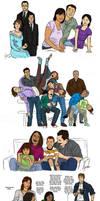 Sketch Dump: Darling Parents