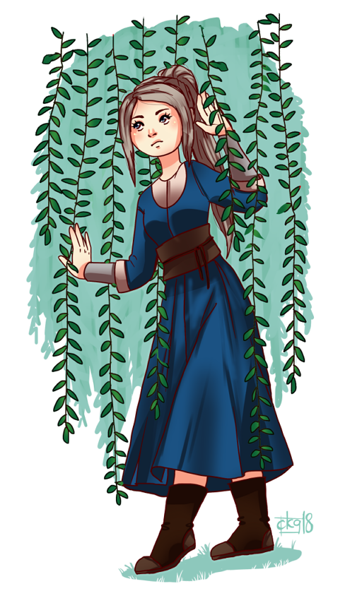 Ophelia by N00b-with-a-tablet