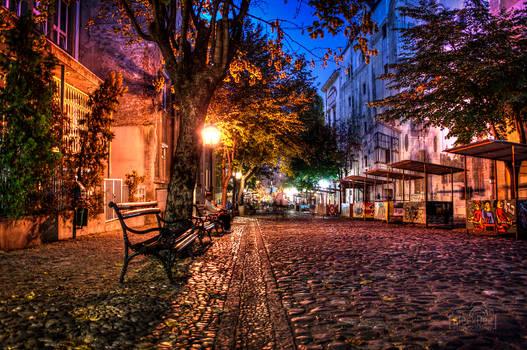 Skadarlija Belgrade