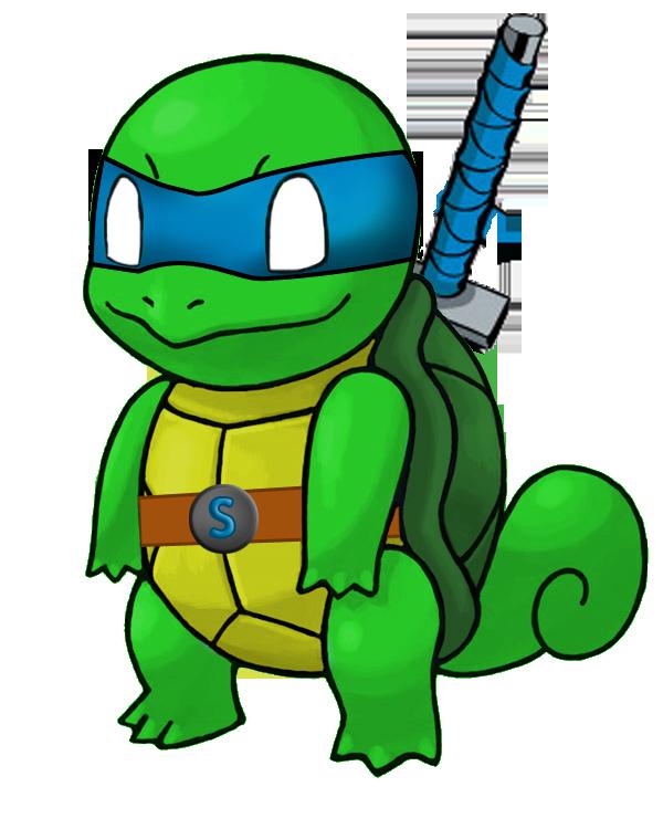 Teenage Mutant Ninja Squirtle by KHCloudStrife