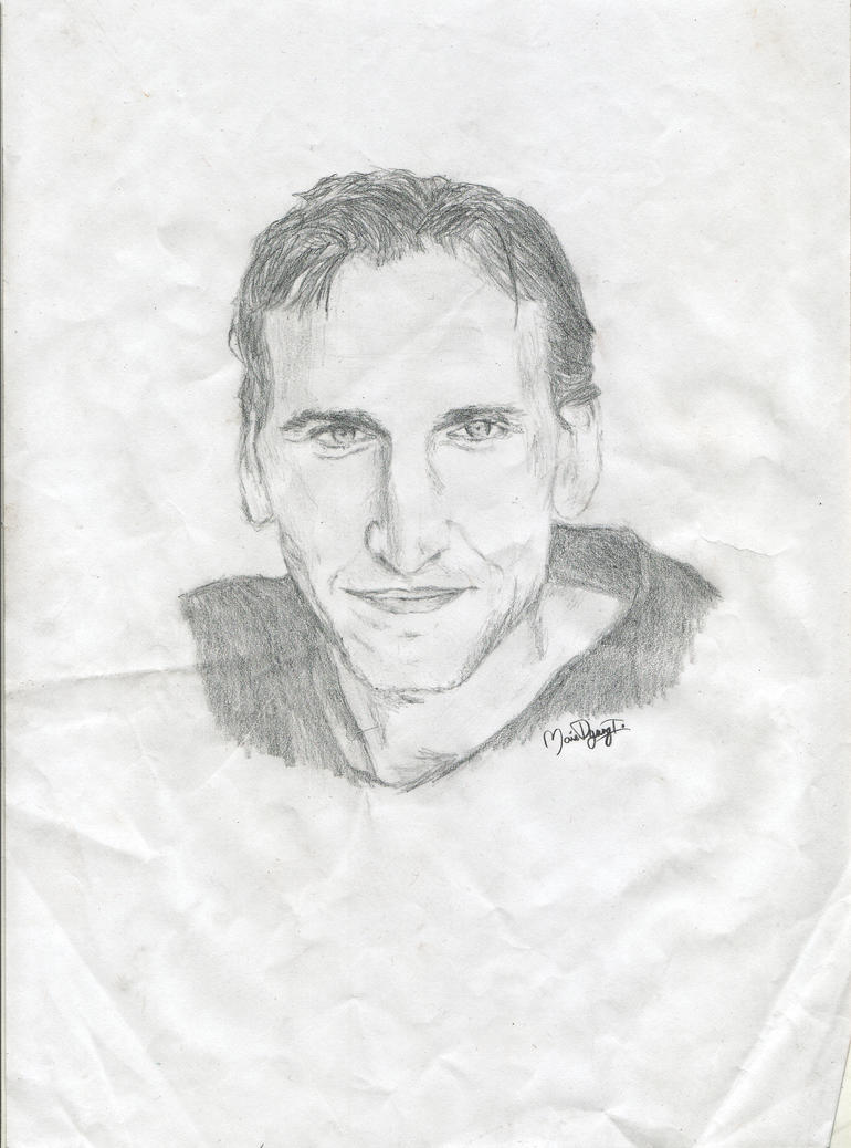 Christopher Eccleston: Smile by mariie323 on deviantART
