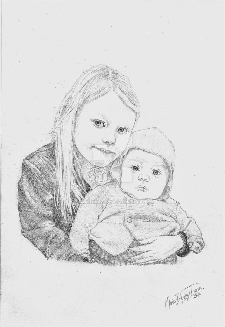 Children's Portrait by mariie323