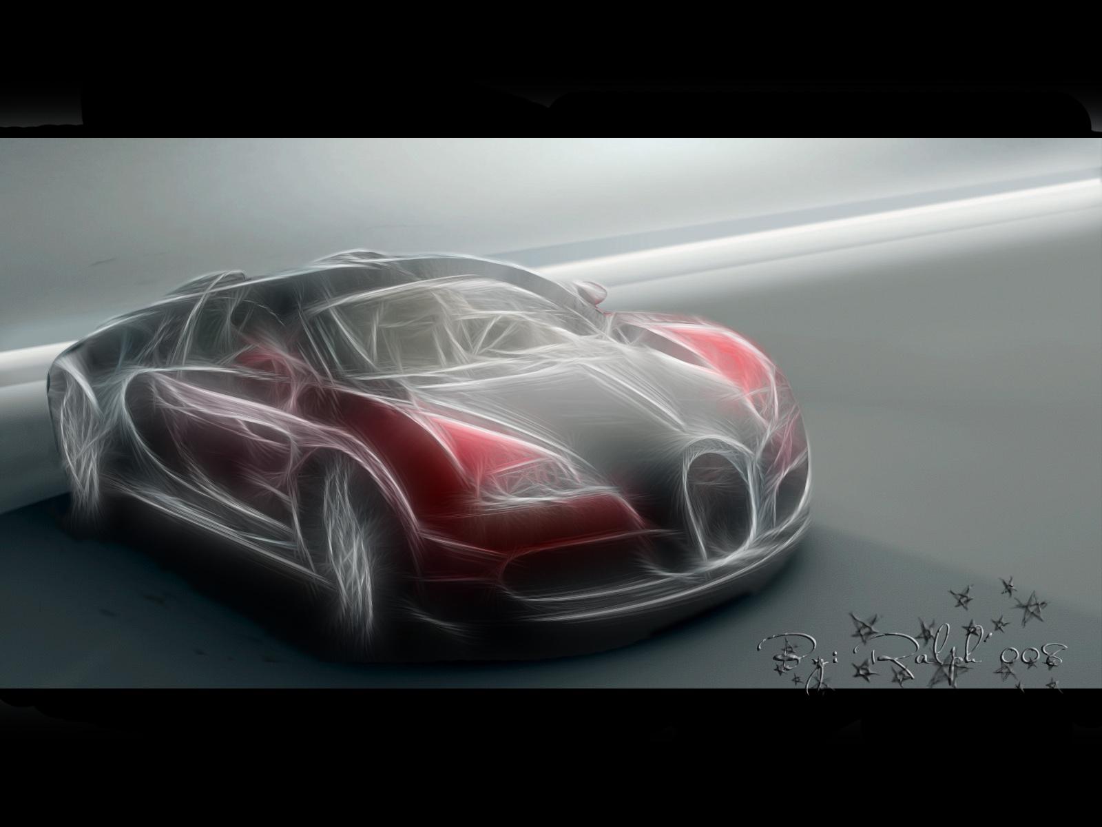 Bugatti Veyron Fractal by Ralphsheep