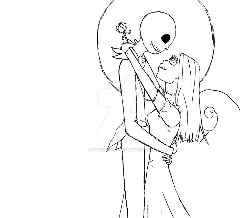Jake and Sally Nightmare before christmas by ET-THE-ARTIST on ...