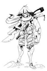 W20130609 - Samurai Cyborg by StMan