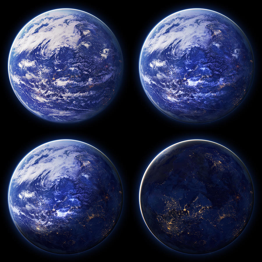 what planets have water - photo #12