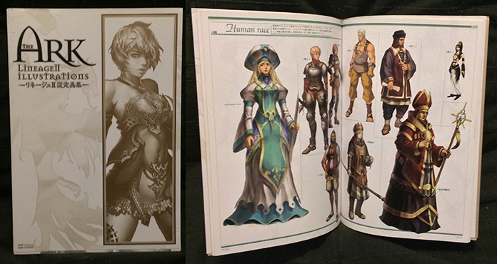 theArk Lineage2Illustrations by StMan