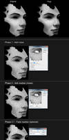 Face Skin Texture with Noise Filters - Tutorial