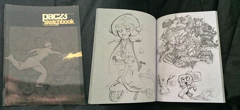 Pac32 Sketchbook vol1 by StMan