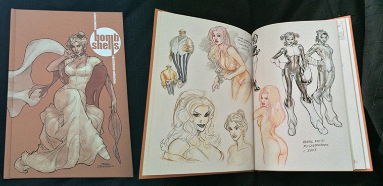 BombShells SketchbookCollection by StMan