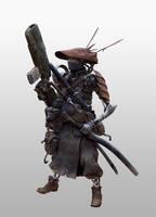 Cyborg Samurai 2 - Character Details by StMan