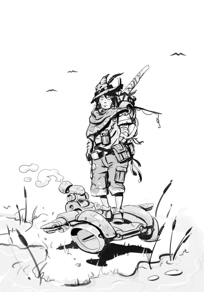 W20141022 - Swamp Guy by StMan