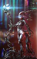 Chrome Girl - Flares mod by StMan