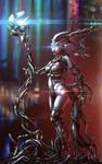 Chrome Girl - Flares mod