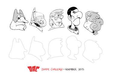 DAC Shape Challenge - November 2015 by StMan