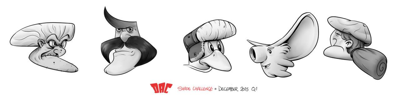 DAC Shape Challenge - December 2015