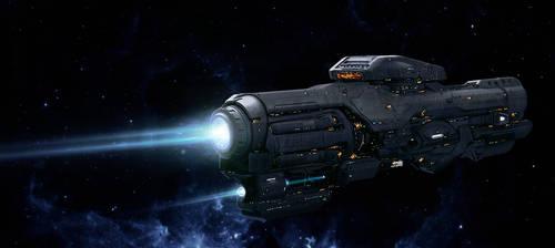 W20160619 - Photobash Spaceship