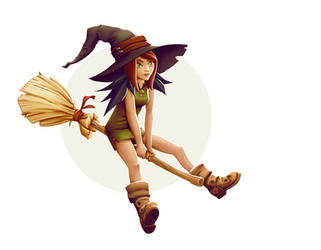 W20161002 - Young Witch (colors) by StMan