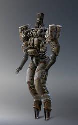 W20161211 - Combat Droid II by StMan