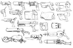 W20170722 - gun doodles