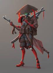 W20171010 - RoboSamurai colors by StMan