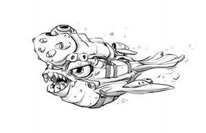 W20171203 Fish doodle