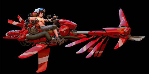HoverBike 2019 - Color