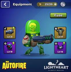 Dr Toxic - Mr Autofire hero