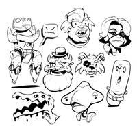 W20200524 - Random Doodles