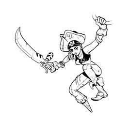 Air Pirates - Character 1