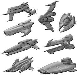 W20210711 - Spaceship Doodles