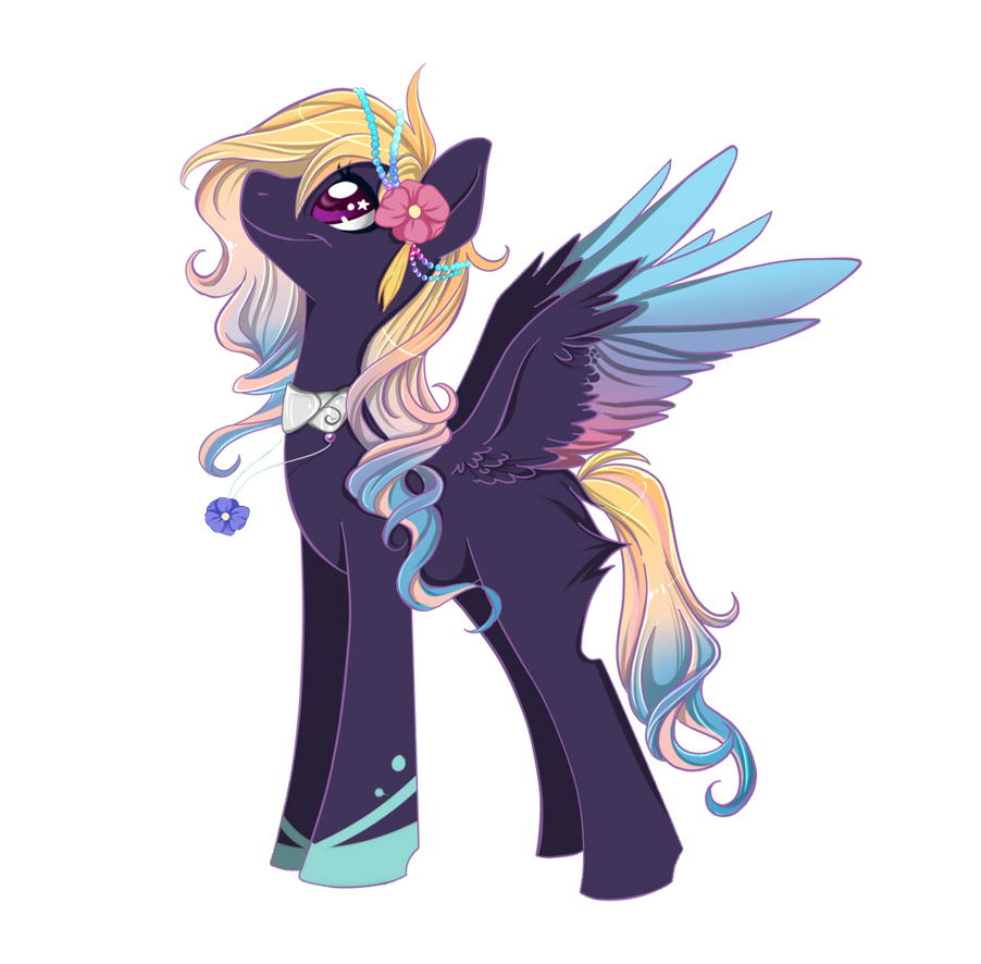 Pony Auction 07 [CLOSED] by SILK-RIBBON
