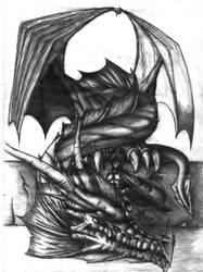 dragon5 by blackeagle