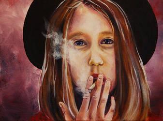 Violet - American Horror Story by elphielein