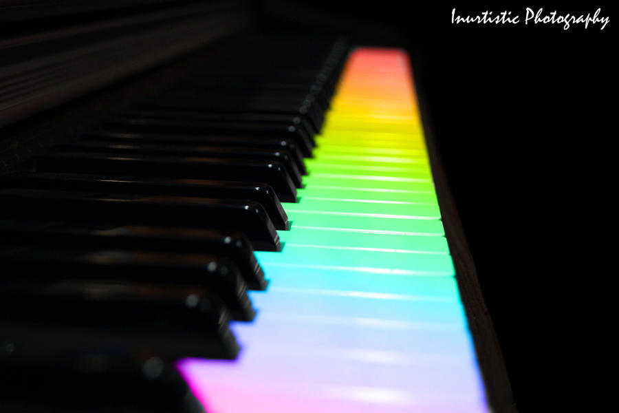 Piano Rainbow By Inu Chan Free