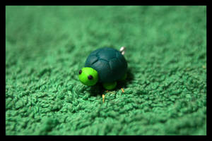 Fimo little Turtle by inu-chan-free