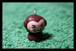 Fimo Little MOnkey by inu-chan-free