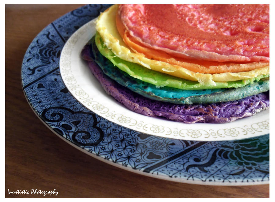 Rainbow crepes by inu-chan-free
