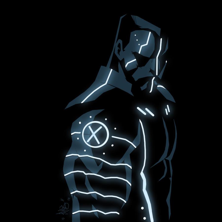 Marvel x Tron : Colossus by RuKuS403