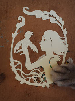 Papercut and cat's paw