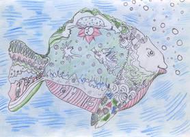 Subway notepad - Big Fish