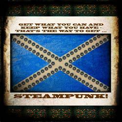 Steampunk Nation: Scotland by PhotoARTbyME