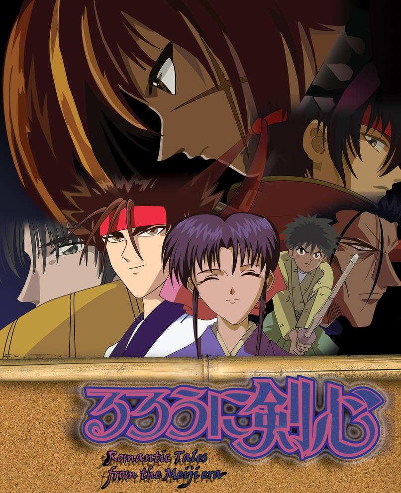 Ruruoni Kenshin poster by Tarburz