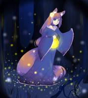 Night Kitsune by Natsu-Ki