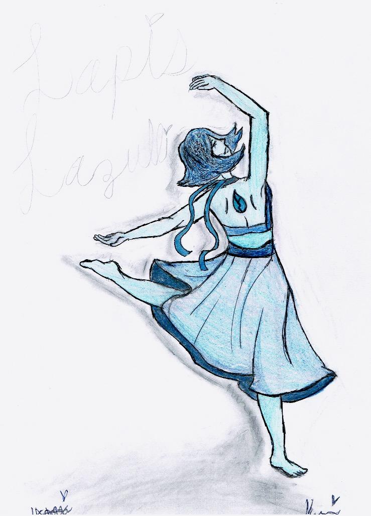 Lapis Dance by loveDBZ